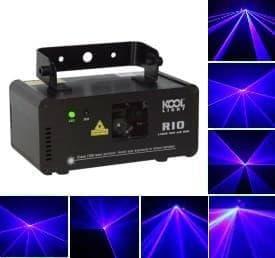 Лазерный проектор цветомузыка